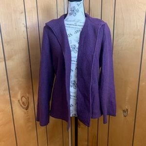 Chico's wool cardigan/ jacket